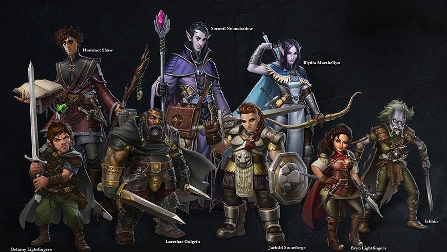 Sword Coast Legends Characters